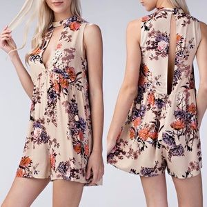 Honey Belle floral romper medium